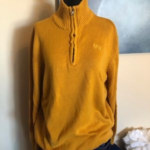 MANSWORLD mustard sweater